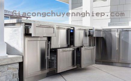 Chiêm ngưỡng 10 mẫu tủ bếp inox bền đẹp trên 20 năm