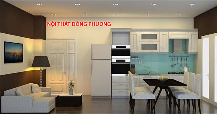 Nhận thi công nội thất chung cư trọn gói giá rẻ, chất lượng tại Hà Nội 3