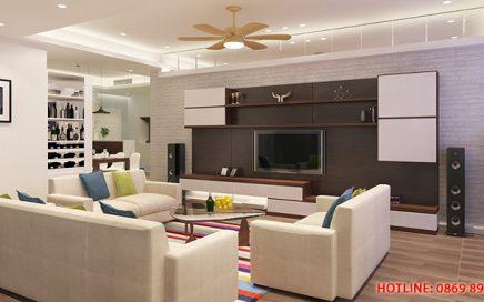 Nhận thi công nội thất chung cư trọn gói giá rẻ, chất lượng tại Hà Nội