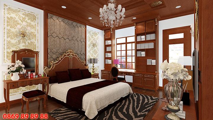 Thiết kế, thi công đồ nội thất phòng ngủ đẹp, sang trọng, giá rẻ 3