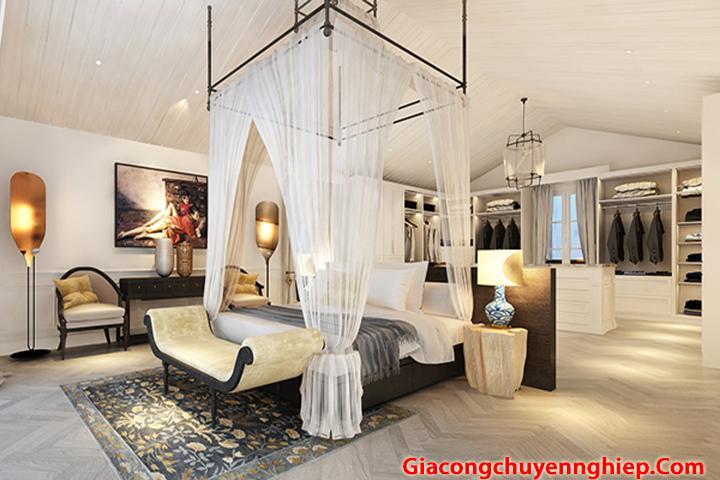Thiết kế, thi công đồ nội thất phòng ngủ đẹp, sang trọng, giá rẻ 5