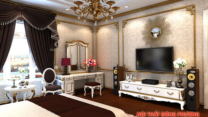 Thiết kế, thi công đồ nội thất phòng ngủ đẹp, sang trọng, giá rẻ 7