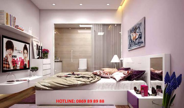Thiết kế, thi công đồ nội thất phòng ngủ đẹp, sang trọng, giá rẻ 8