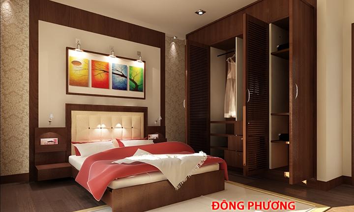 Thiết kế, thi công đồ nội thất phòng ngủ đẹp, sang trọng, giá rẻ 9