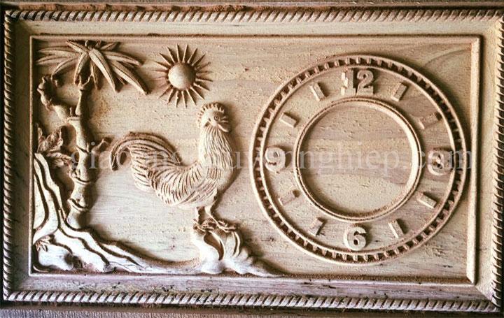 Gia công CNC tranh điêu khắc gỗ chuyên nghiệp - 0869 898 988-06