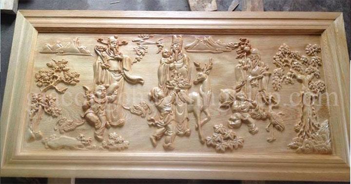 Gia công CNC tranh điêu khắc gỗ chuyên nghiệp - 0869 898 988-08