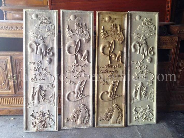 Gia công CNC tranh điêu khắc gỗ chuyên nghiệp - 0869 898 988-09