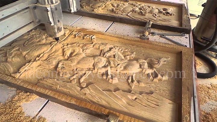 Gia công CNC tranh điêu khắc gỗ chuyên nghiệp - 0869 898 988-02