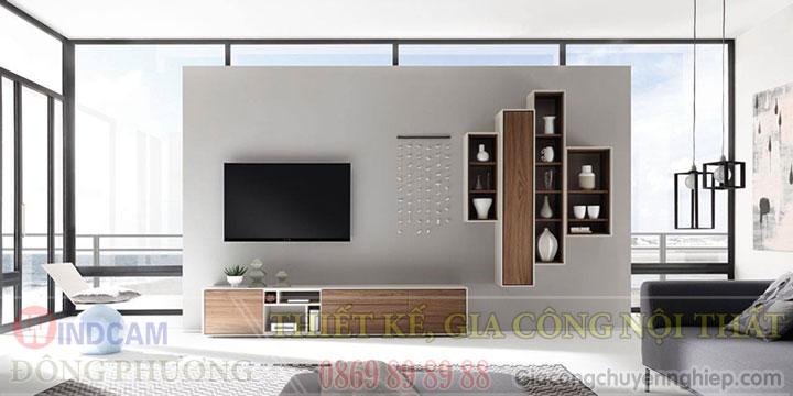 Gợi ý 20 mẫu tủ kệ gỗ trang trí nội thất đẹp - Nội thất Đông Phương-01