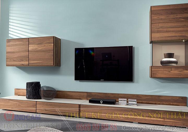 Gợi ý 20 mẫu tủ kệ gỗ trang trí nội thất đẹp - Nội thất Đông Phương-04