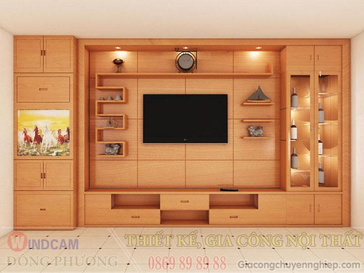 Gợi ý 20 mẫu tủ kệ gỗ trang trí nội thất đẹp - Nội thất Đông Phương-08
