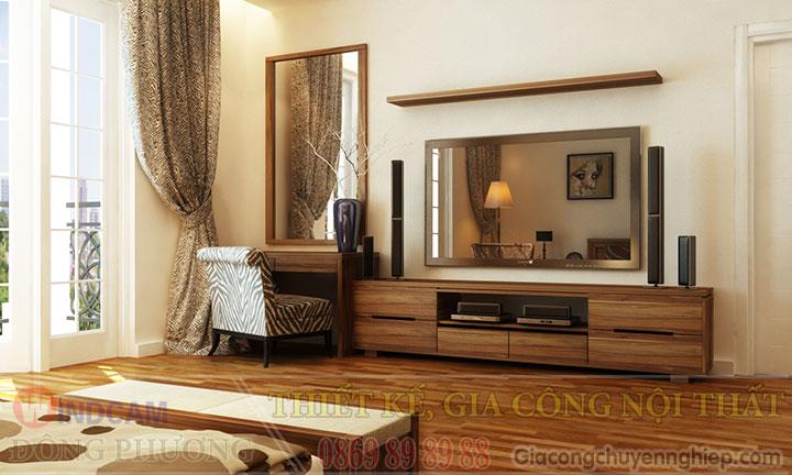 Gợi ý 20 mẫu tủ kệ gỗ trang trí nội thất đẹp - Nội thất Đông Phương-09