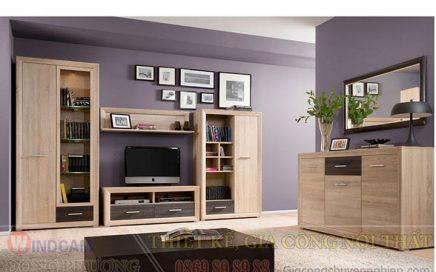 Gợi ý 20 mẫu tủ kệ gỗ trang trí nội thất đẹp - Nội thất Đông Phương-10