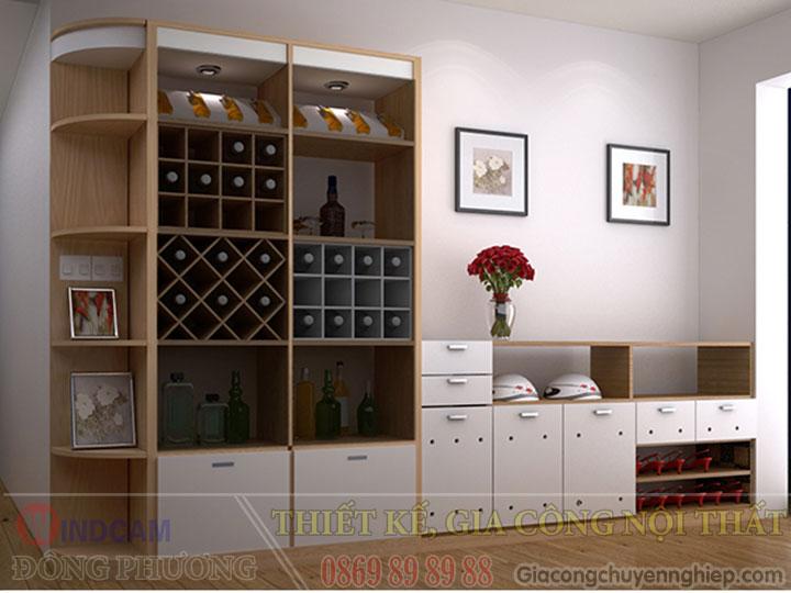 Gợi ý 20 mẫu tủ kệ gỗ trang trí nội thất đẹp - Nội thất Đông Phương-13