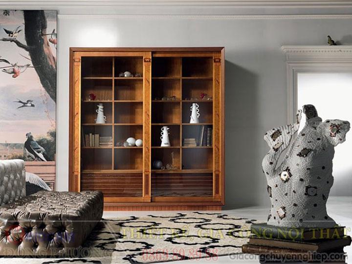 Gợi ý 20 mẫu tủ kệ gỗ trang trí nội thất đẹp - Nội thất Đông Phương-15