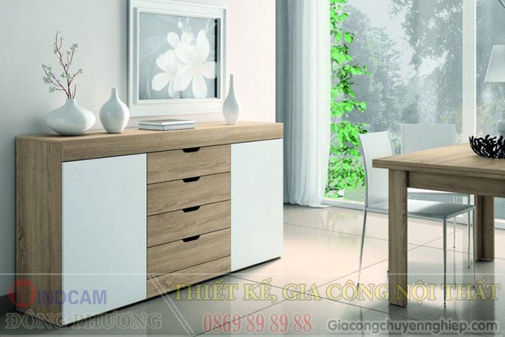 Gợi ý 20 mẫu tủ kệ gỗ trang trí nội thất đẹp - Nội thất Đông Phương-17
