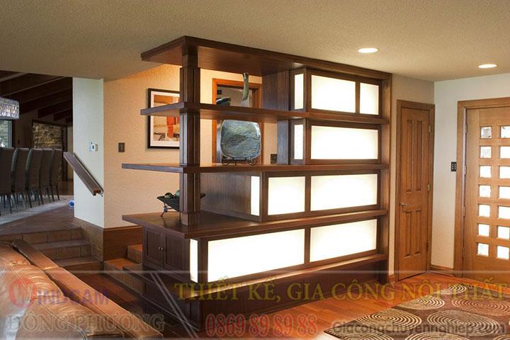 Gợi ý 20 mẫu tủ kệ gỗ trang trí nội thất đẹp - Nội thất Đông Phương-18