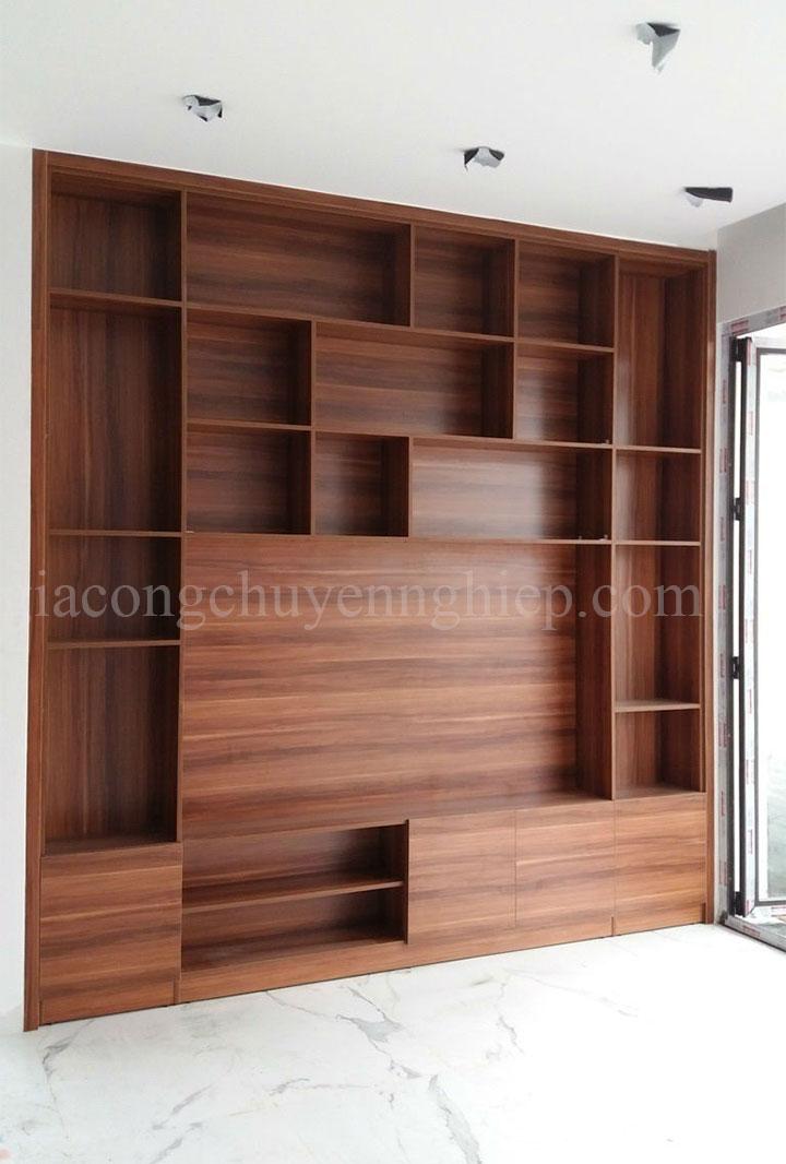 Gợi ý 20 mẫu tủ kệ gỗ trang trí nội thất đẹp - Nội thất Đông Phương-21