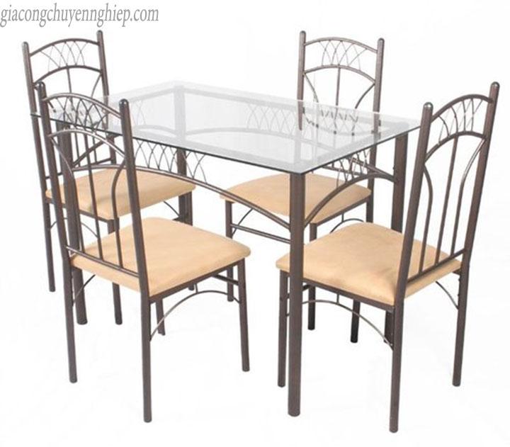 Thông dụng với bàn ăn inox tại quán ăn, nhà ăn tập thể 07