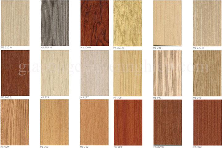 Tổng hợp các mẫu cửa gỗ công nghiệpcao cấp mới nhất 2018-10