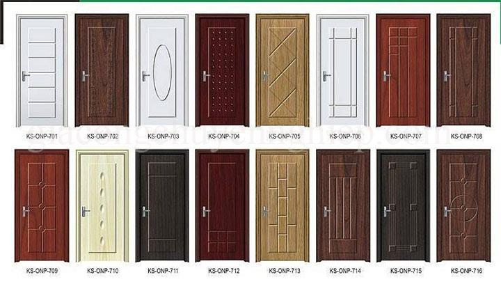 Tổng hợp các mẫu cửa gỗ công nghiệpcao cấp mới nhất 2018-03