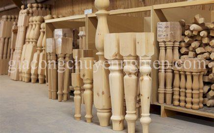 Top 50 mẫu trụ, con tiện cầu thang gỗ đẹp phổ biến-02
