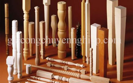 Chi tiết gỗ - Gia công song, tiện, chạm, chuốt chi tiết gỗ-20