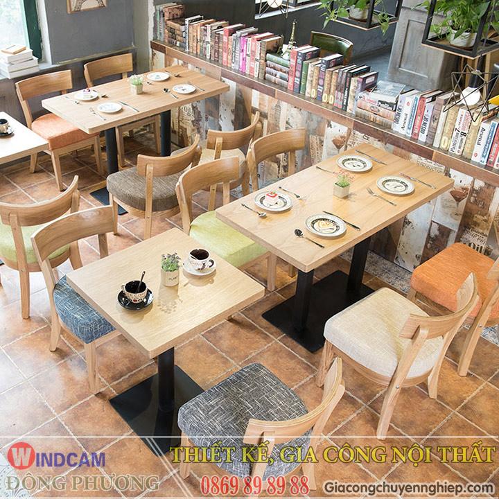 Đông Phương giới thiệu 10 mẫu bàn ghế hiện đại dành cho các quán cafe 06