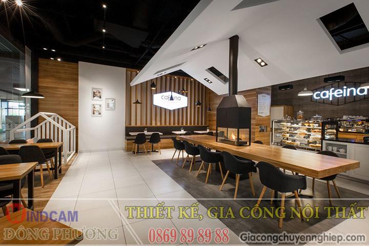Đông Phương giới thiệu 10 mẫu bàn ghế hiện đại dành cho các quán cafe 07