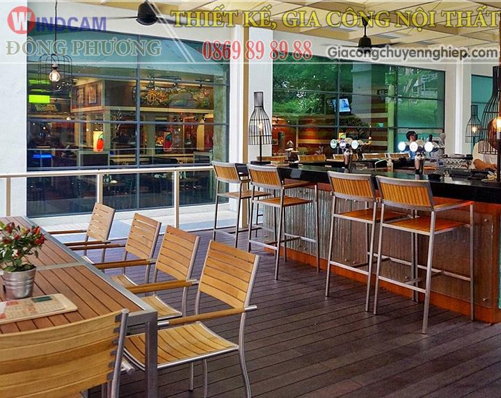 Đông Phương giới thiệu 10 mẫu bàn ghế hiện đại dành cho các quán cafe 13