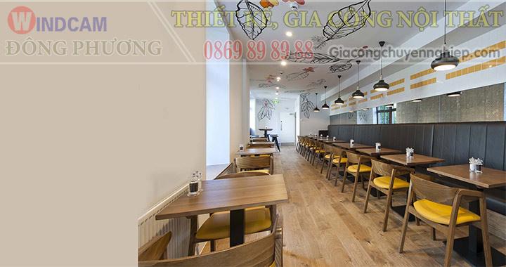 Đông Phương giới thiệu 10 mẫu bàn ghế hiện đại dành cho các quán cafe 05