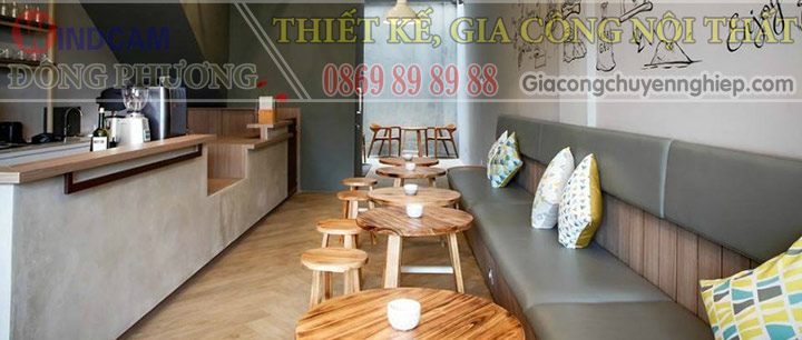 Đông Phương giới thiệu 10 mẫu bàn ghế hiện đại dành cho các quán cafe 08
