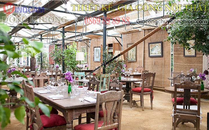 Đông Phương giới thiệu 10 mẫu bàn ghế hiện đại dành cho các quán cafe 09