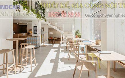 Đông Phương giới thiệu 10 mẫu bàn ghế hiện đại dành cho các quán cafe