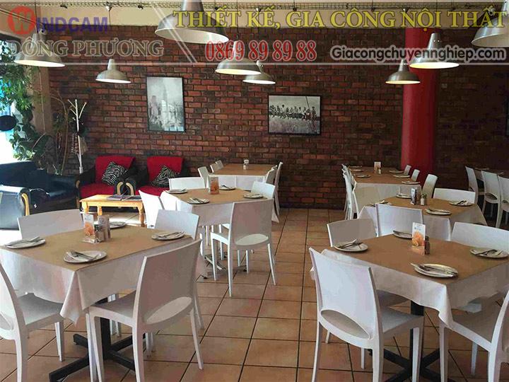 Đông Phương giới thiệu 10 mẫu bàn ghế hiện đại dành cho các quán cafe 10