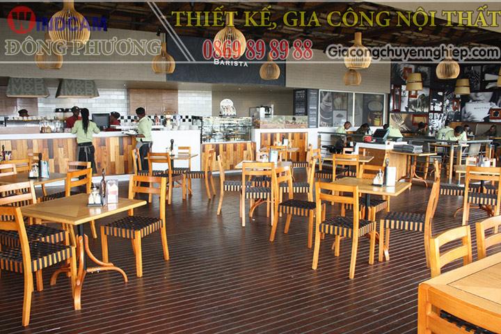 Đông Phương giới thiệu 10 mẫu bàn ghế hiện đại dành cho các quán cafe 11