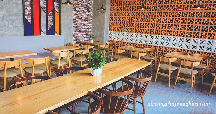 Đông Phương - Nhận gia công bàn, ghế gỗ cho các quán cafe