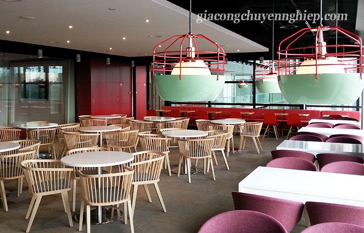 Đông Phương - Nhận gia công bàn, ghế gỗ cho các quán cafe 04