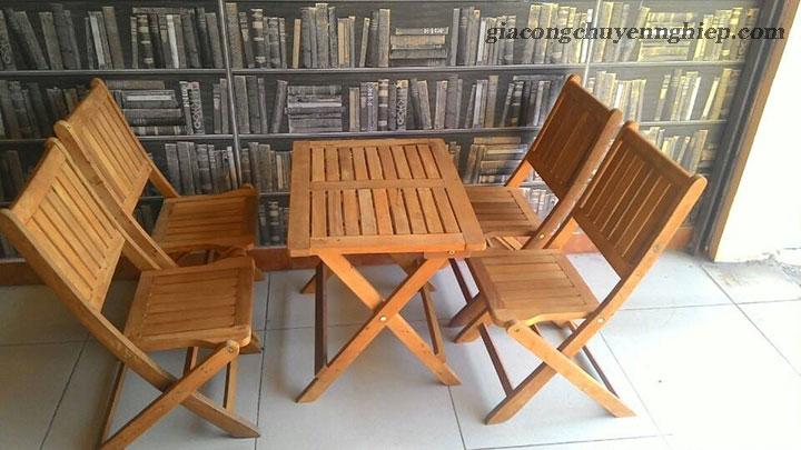 Đông Phương - Nhận gia công bàn, ghế gỗ cho các quán cafe 03