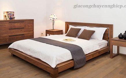 Điểm khác biệt giữa giường ngủ bằng gỗ tự nhiên và gỗ công nghiệp