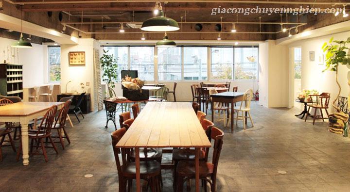 Đông Phương giới thiệu 10 mẫu bàn ghế hiện đại dành cho các quán cafe 03