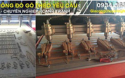 Xưởng nhận gia công gỗ, điêu khắc gỗ 2D, 3D, 4D bằng máy CNC-15