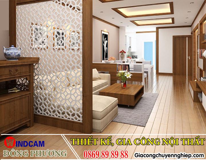 100+ mẫu VÁCH NGĂN CNC phòng khách - bếp - ngủ - thờ đẹp Hà Nội.-5