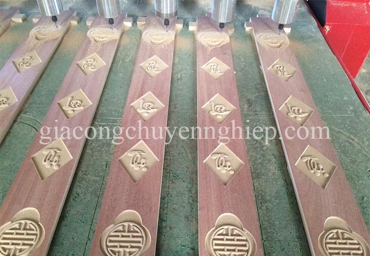 Cắt khắc CNC 2D, 3D trên gỗ gia công giá rẻ tại xưởng.-11