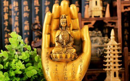 Dịch vụ đục khắc gỗ 4D: Tượng Phật Bà Quan Âm gỗ đục cực đẹp.-7