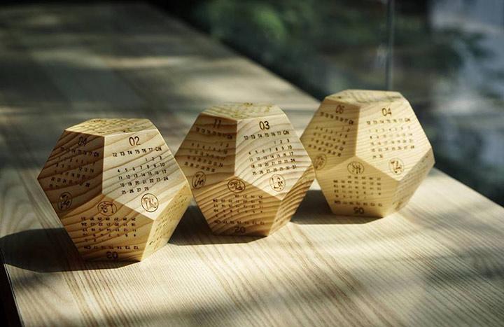 [HOT] Lịch gỗ để bàn, gia công lịch gỗ để bàn 12 mặt tphcm giá rẻ.-5