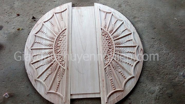 Nhận gia công cho các xưởng mộc cần chạm hoa lá tây khắc gỗ cnc.-4