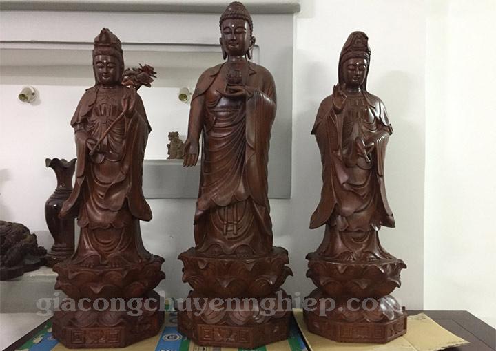 Tượng gỗ Phật Bà Quan Thế Âm món quà mang nhiều ý nghĩa tâm linh1